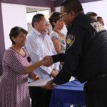 Habitantes de colonias de la delegación Centro Histórico agradecen labor policial