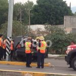 Accidente en Boulevard de la Nación