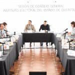 Sesiona Consejo General del IEEQ en Ezequiel Montes