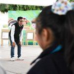 Fomentan IEEQ y TEPJF valores cívicos en escuela primaria
