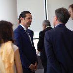 Roma: Gobernador establece vínculos para potenciar la industria aeroespacial