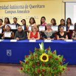 Se gradúan alumnos de la Licenciatura en Desarrollo Local en Amealco