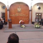 Guardia de Honor al ex Gobernador Antonio Calzada