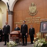 Guardia de Honor en Homenaje al Arq. Antonio Calzada Urquiza, exgobernador de Querétaro