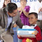 Queremos que los niños crezcan fuertes, sanos y felices: RSP