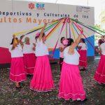 Participan 700  Adultos Mayores en Juegos Deportivos y Culturales El Marqués 2019