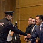 41 elementos obtienen su título de Técnico Superior Universitario en Policía Preventivo Municipal