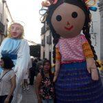 Verbena reúne a familias y turistas en el Centro Histórico