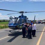 5 lesionados en volcadura de vehículo en la estatal carretera 210