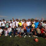 Luis Nava entregó cancha de fútbol en Jardines Del Valle