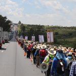 Con saldo blanco, el paso de los peregrinos varones por el estado de Querétaro