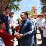 Luis Nava encabeza jornada de Gobernador y Alcalde en tu Calle en San Pablo