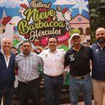 Anuncia Luis Nava tradicional Festival de la Nieve y Barbacoa en Hércules