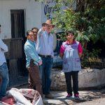 Enrique Vega realiza supervisión de obras en diferentes comunidades de El Marqués