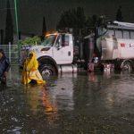 Municipio de Querétaro atiende afectaciones por lluvia de esta noche