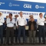 Anuncian 60 mdp para obras en Colón