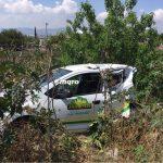 Chocan camioneta y automóvil de Jarritos