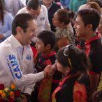 Anuncia el gobernador inversión de 79.4 mdp en 9 comunidades de Pedro Escobedo