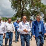 Entrega Gobernador primera etapa de modernización del camino a La Laborcilla
