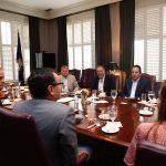 Atiende FDS agenda bilateral en Utah