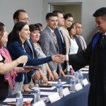 Acompaña Elsa Méndez a graduados del CETIS 105