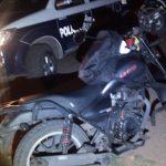 Policía de El Marqués recuperó una motocicleta con reporte de robo