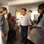 Supervisa Luis Nava primera consulta de Médico en tu Calle