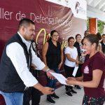 """Participan 83 personas en taller """"Defensa Personal para Mujeres"""""""