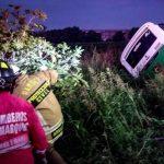 Accidente en El Marqués. Informe oficial 1 muerto y tres heridos de gravedad