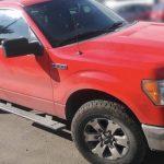 Se detiene a conductor de camioneta robada