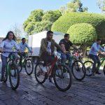 Con rodada ciclista inician los festejos por el Día Internacional de la Juventud