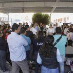 Se reúne Roberto Sosa con vecinos de Pueblito Colonial