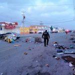 Explota tanque de gas en Ezequiel Montes