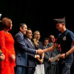 Preside Gobernador ceremonia de 70 Aniversario de los Bomberos