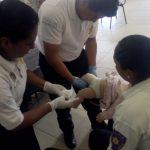 Personal policial fortalece conocimientos en primeros auxilios pediátricos