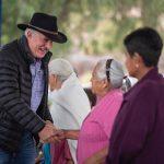 Realiza Enrique Vega en conjunto con SMDIF recorrido y entrega de aparatos ortopédicos a adultos mayores