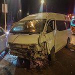 Seis lesionados tras choque en la carretera a la Cañada