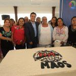 Acude Luis Nava al 19 aniversario del Movimiento Amplio de Organizaciones Sociales