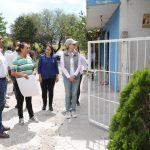 Entrega Luis Nava apoyos en La Monja, Santa Rosa Jáuregui