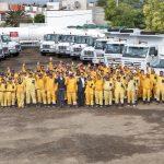 Entrega Luis Nava 27 vehículos a la Secretaría de Servicios Públicos