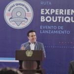 """Presentó Luis Nava la Ruta Turística """"Experiencia Boutique"""" con 25 hoteles y 3 restaurantes y un bar"""