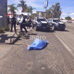 Muere ciclista atropellado