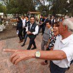 Entregó Luis Nava obras de mejoramiento para el Panteón Cimatario