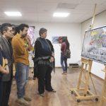 """Presentan exposición """"El ritmo del color""""  en Psicología de la UAQ"""