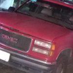 Dos sujetos fueron presentados ante la FGE tras robar una camioneta