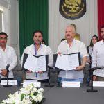 Se hermanan municipios de El Marqués y de Progreso, Yucatán