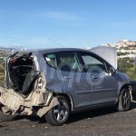 Aparatoso accidente en el Surponiente