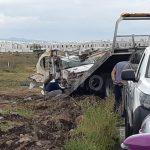 Dos heridos deja accidente en Prolongación Constituyentes