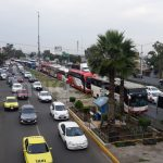 Transportistas en protesta