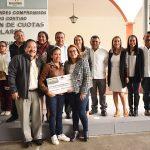 Entrega Chely Amador y regidores priistas cerca de 1 mdp de donativo a escuelas en Jalpan